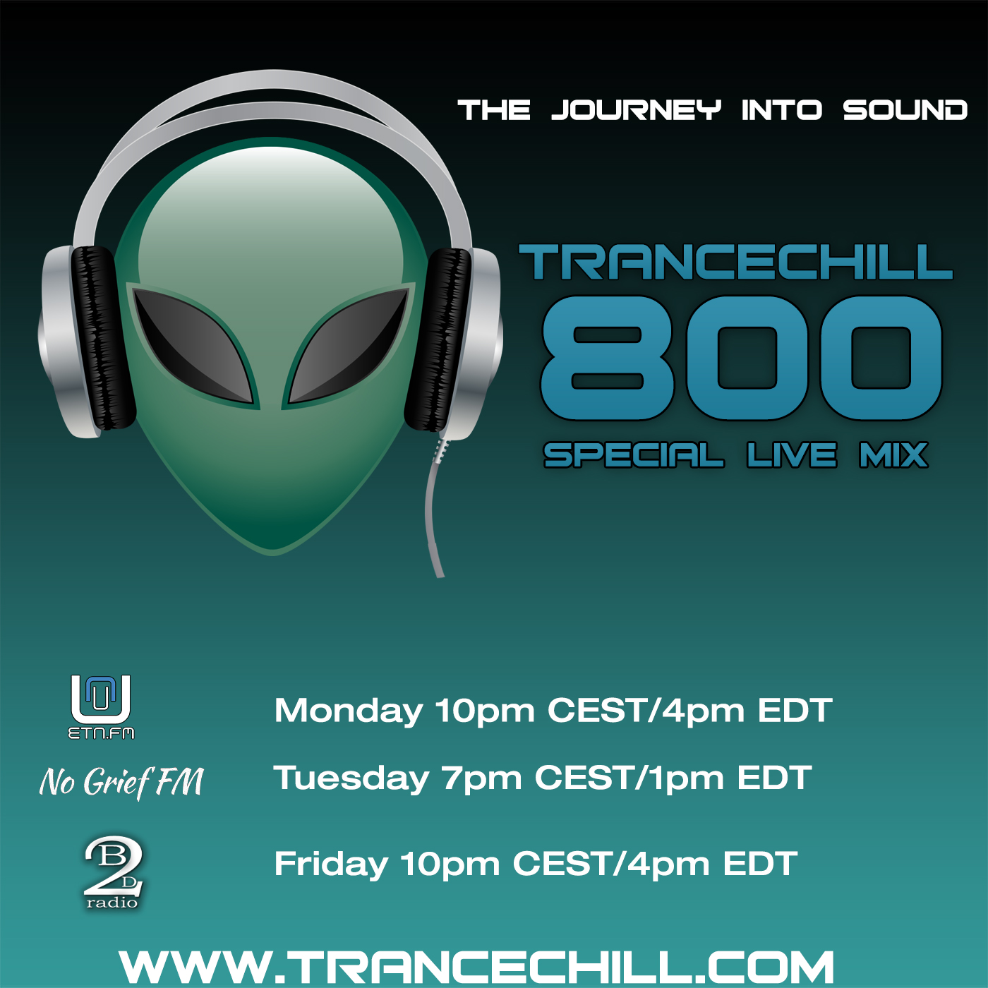 TranceChill com :: Episode 800